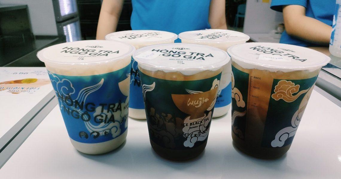 【越南平陽美食】台灣吳家紅茶冰在越南遍地開花!俗擱大碗胖胖杯搶占越南平價飲料市場
